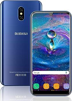 Telefonos Moviles Libres 4G, Smartphone de 16GB ROM 3GB RAM 5.85Pulgadas IPS/HD 3800mAh Batería Android 8.1 Quad Core Moviles Libres, Dual SIM Cámara Teléfono Móvil Face ID(Azul): Amazon.es: Electrónica