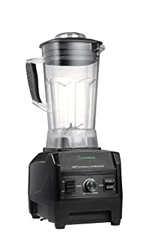 Blender By Cleanblend: Commercial Blender, Mixer, Smoothie Blender, 64 Ounce Bpa Free Container, Stainless Steel 8 Blade Assembly, Variable Speed, Pulse, Tamper, Nut Milk Bag, Spatula, 3 Hp 1800 Watts by Cleanblend