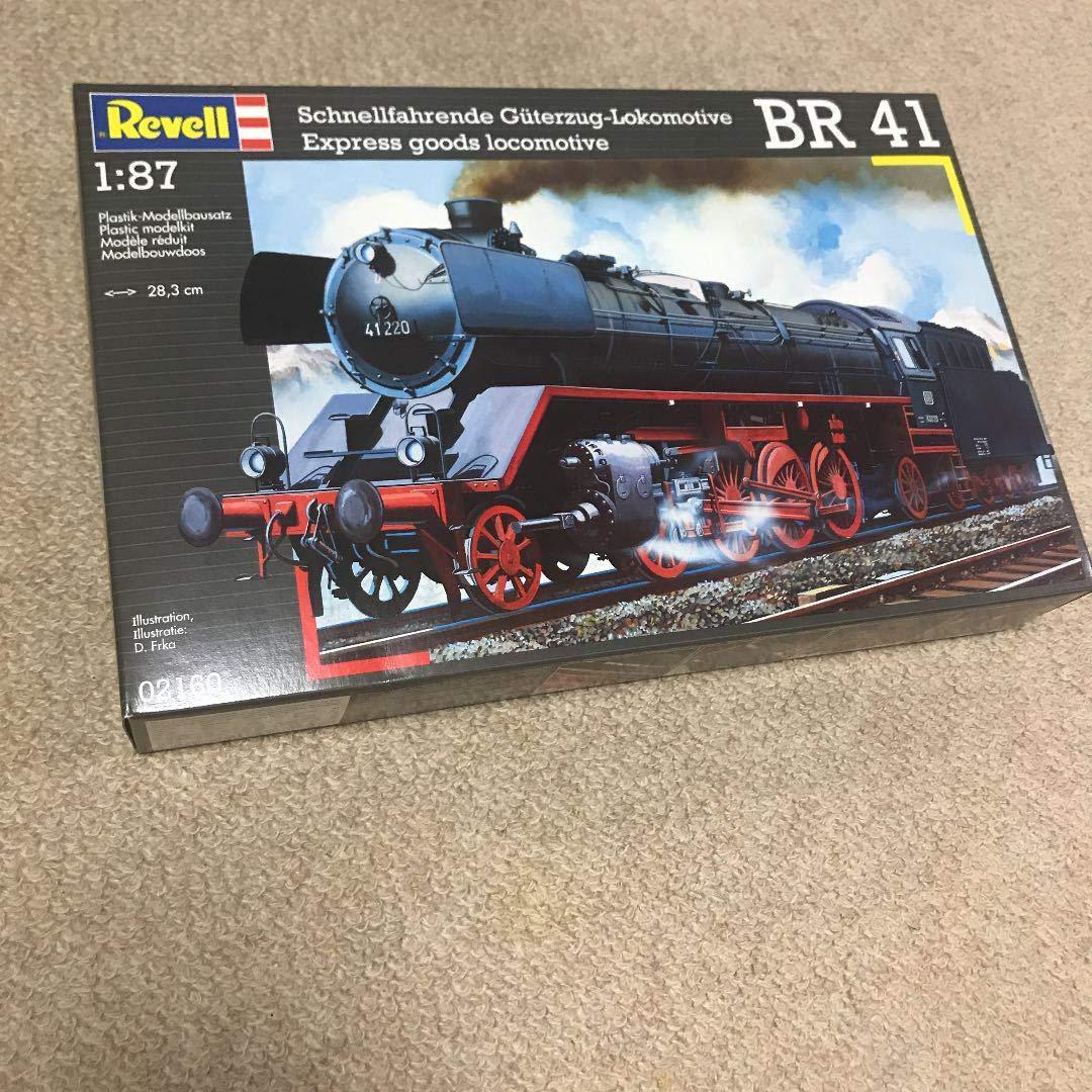 1/87 HOゲージ プラモデル 蒸気機関車 BR 41 展示用   B07Q9Q83ZW