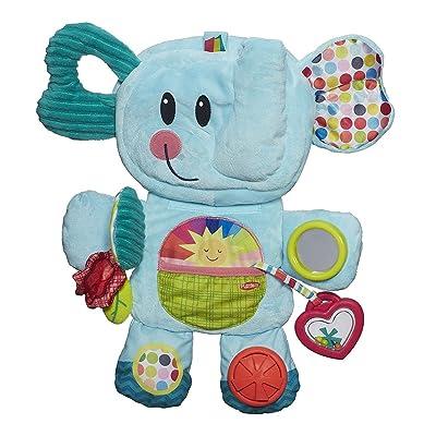 Playskool Fold 'n Go Busy Elephant - Blue: Toys & Games