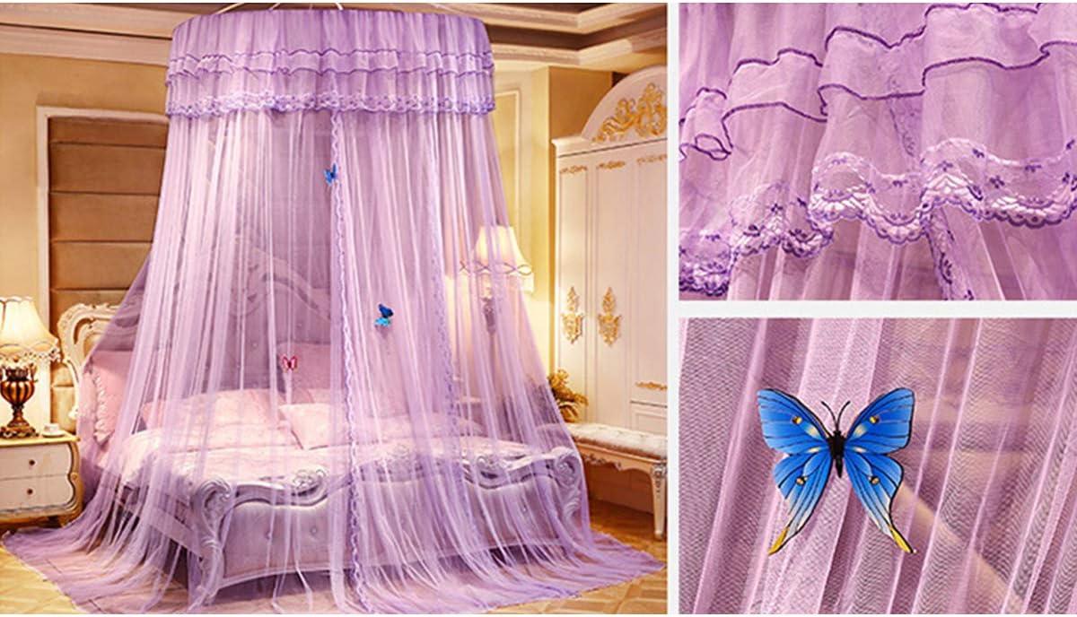 Yizunnu Mosquitera para cama de princesa tama/ño king y doble Ruby