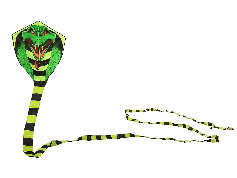 Groß drachen für kinder und erwachsene drachen einleiner,cobra kite mit langem Schwanz, drachen schnur und Spule enthalten China