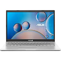 ASUS VivoBook 14 (2020) Intel Core i3-1005G1 10th Gen 14-inch FHD Thin and Light Laptop (4GB/256GB NVMe SSD/Integrated Graphics/Windows 10/Silver/1.6 kg), X415JA-EK312TS