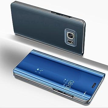 Funda Samsung Galaxy S7,Carcasa Libro de Cuero PU Premium y ...
