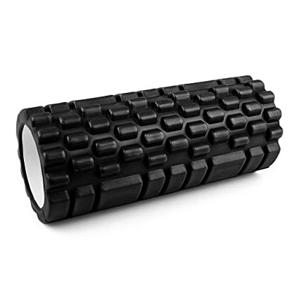 Capital Sports Yoyogi Rollo de gimnasia (Cilindro de gomaespuma masajeador, 33.5cm, ideal