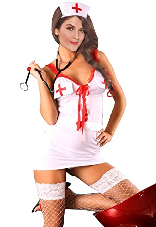31e7285f43302 Image Unavailable. Image not available for. Color: Sexy Nurse Costume -  Women ...