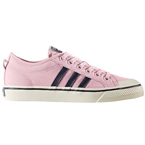 Adidas Nizza W Rosas CG3818. Zapatillas de Deporte Para Mujer, Sneaker (39 EU