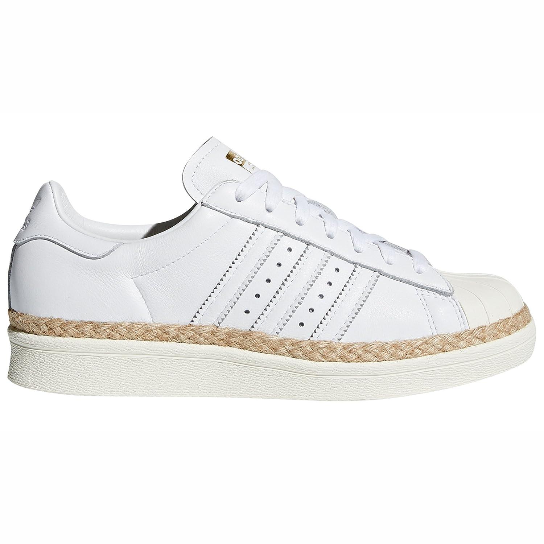 Adidas Superstar 80s W Weiß und Rosa. Schuhe Damen Turnschuhe Leather