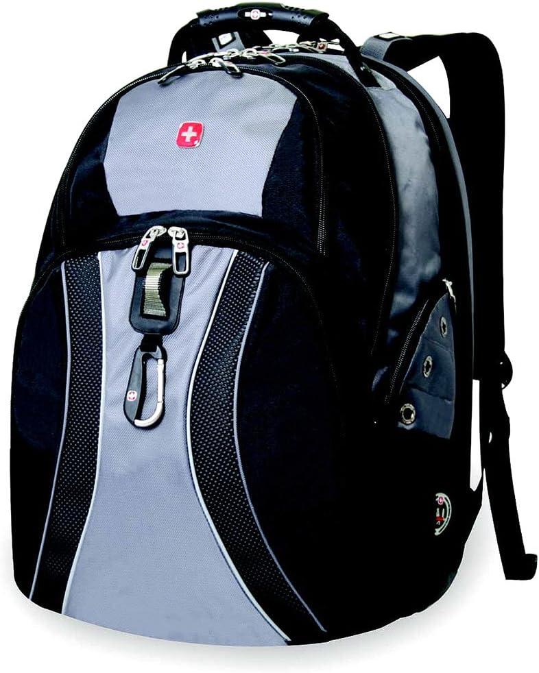 Green Ace List SwissGear ® Scansmart Laptop Backpack (Gray)