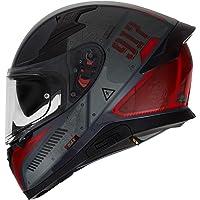 HAX- Casco Cerrado para Motocicleta, Serie Impulse, Modelo Droid, Varios Colores y Tallas.