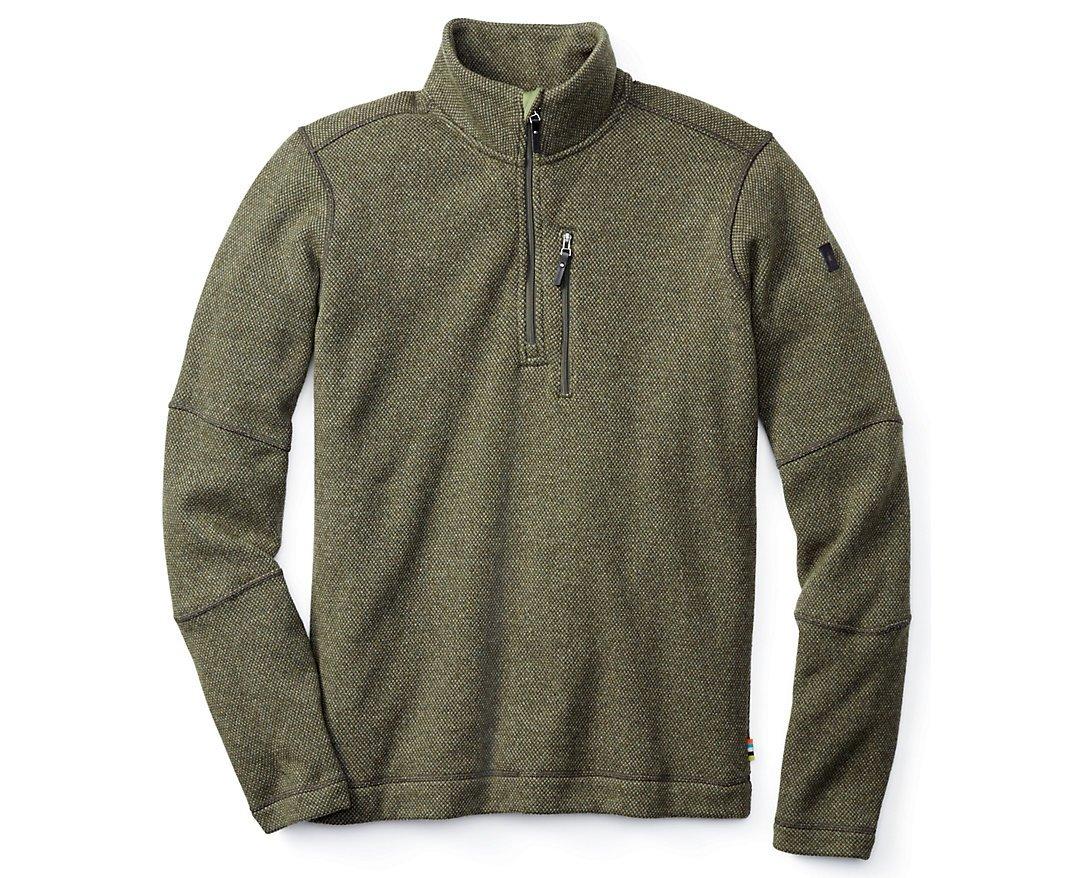 Smartwool Men's Heritage Trail Fleece Half-Zip Sweater (Loden) X-Large