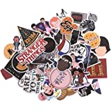 Stranger Things Themed Set of 66 Assorted Stickers Decal Set