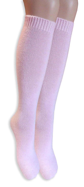 Best Calze 12 paia di calze lunghe morbide e calde donna Mod Valery Pastello TG UNICA