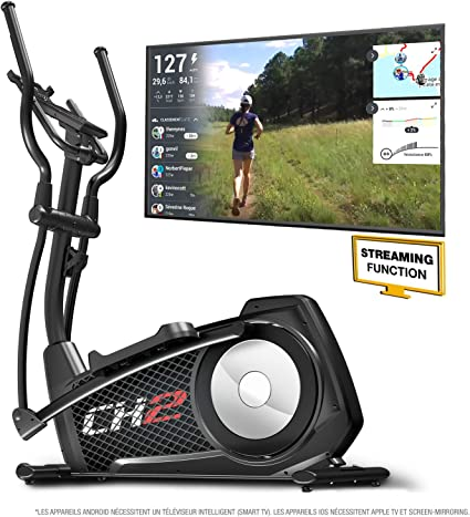 Sportstech CX2 – Bicicleta elíptica Ergómetro con control por ...