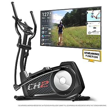 Sportstech CX2 - Bicicleta elíptica Ergómetro con control por ...