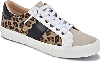 b1723ccdb2f9 VINTAGE HAVANA DINA Crazy Leopard with White Women's Fashion Sneaker