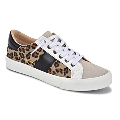 a07af2a2e4ed VINTAGE HAVANA Women's DINA with White Fashion Sneaker 5.5 M Crazy Leopard