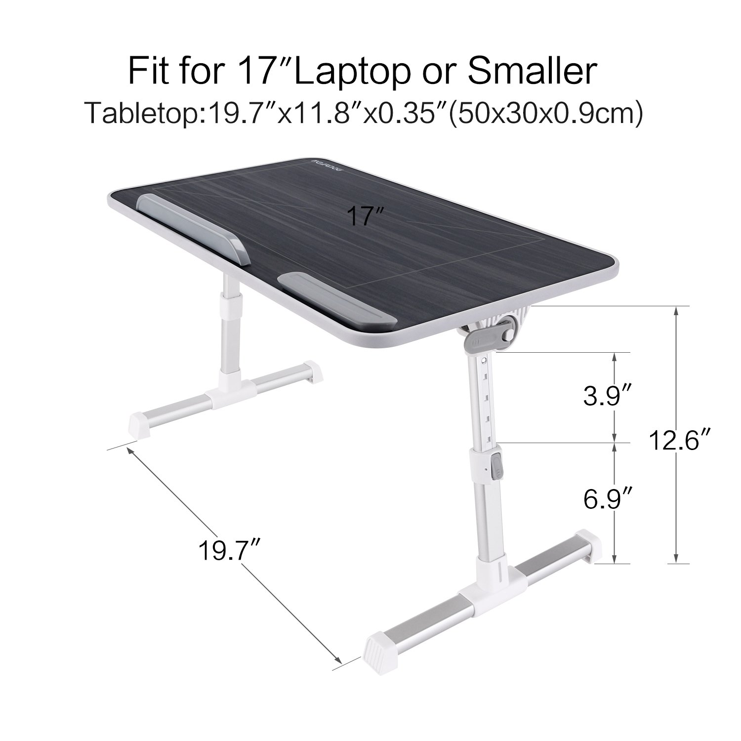 Merveilleux Laptop Bed Tray Table Nearpow Adjustable Laptop Bed