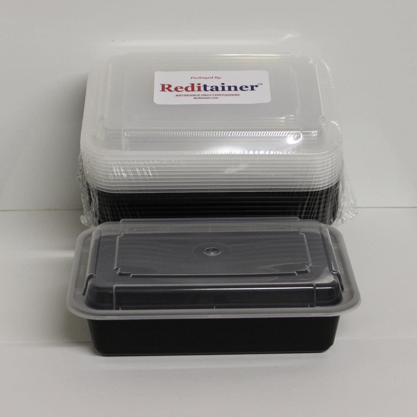 Reditainer Food Storage Containers with Lids (10, 6