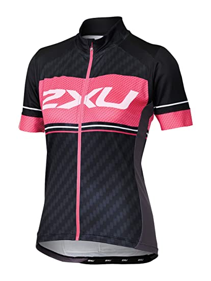 0cf690b79 Amazon.com  2XU Womens Perform Pro Cycle jersey  Sports   Outdoors