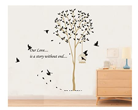 Great E Love Hot Sale Our Love Is A Story Without End Quote Tall Tree With