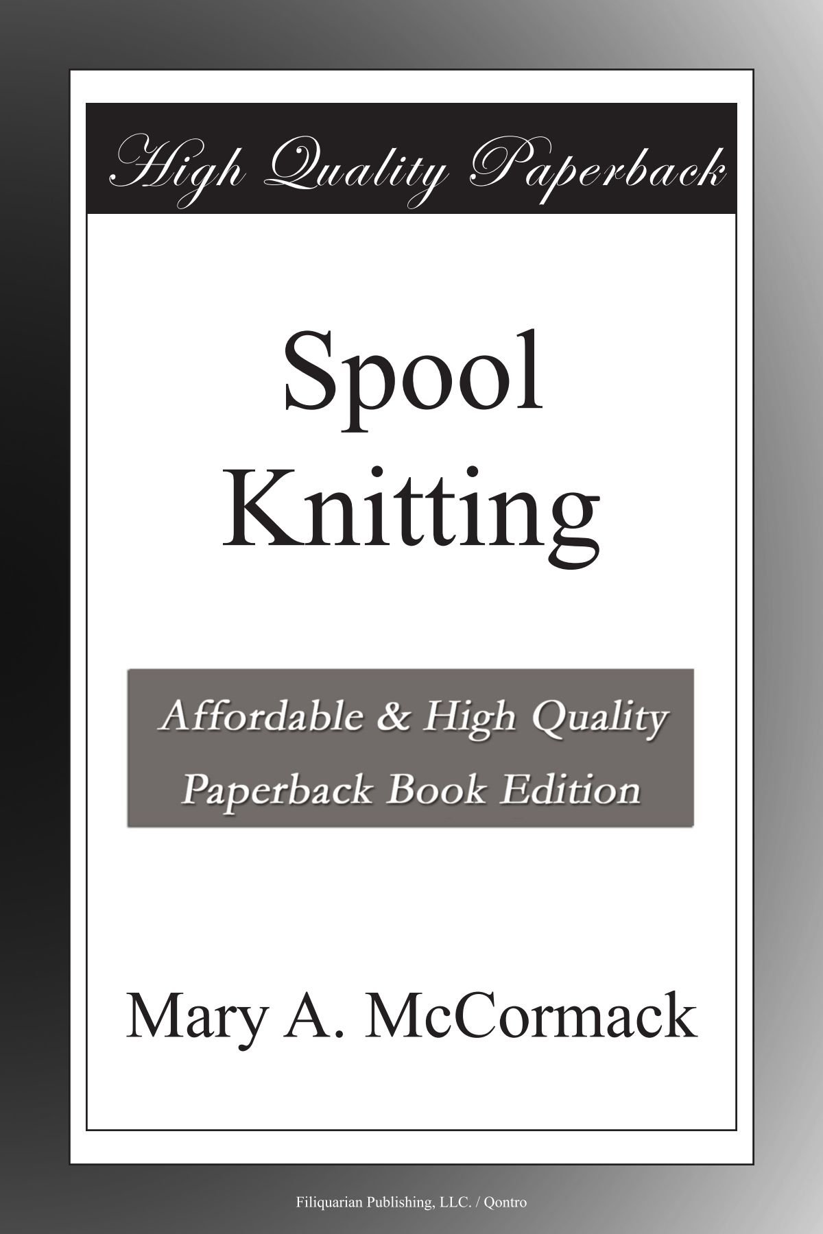 Download Spool Knitting ebook