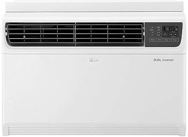 LG 1 Ton 5 Star Wi Fi Inverter Window AC  Copper, JW Q12WUZA, White, Low Gas Detection