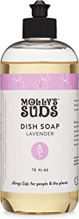 product image for Molly's Suds Natural Liquid Dish Soap, Lavender Scented, 16 oz, 2 Pack