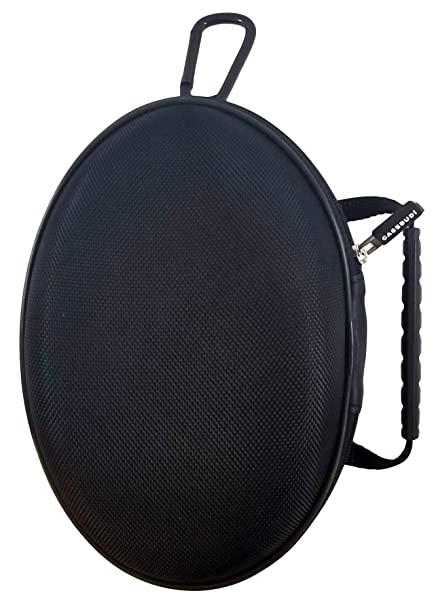 f2b60286ebe Image Unavailable. Image not available for. Color: CASEBUDi Oval Hard Shell  Headphone Carrying Case | for Beats and Similar Folding Headphones ...