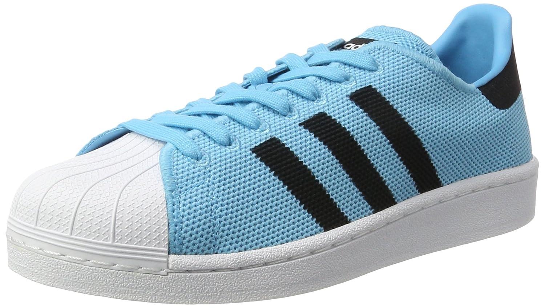 Bleu (Brcyan Cnoir Ftwwht) adidas Originals Superstar, Baskets Mixte Adulte 46 EU
