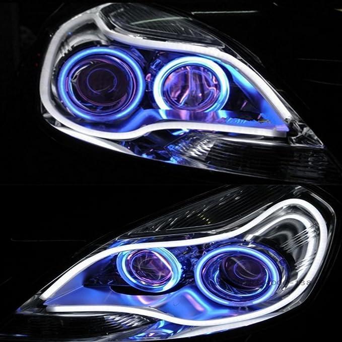 1 opinioni per HopeU5® 2x LED Auto Auto Guida per tubo 85CM Guida flessibile per strisce LED