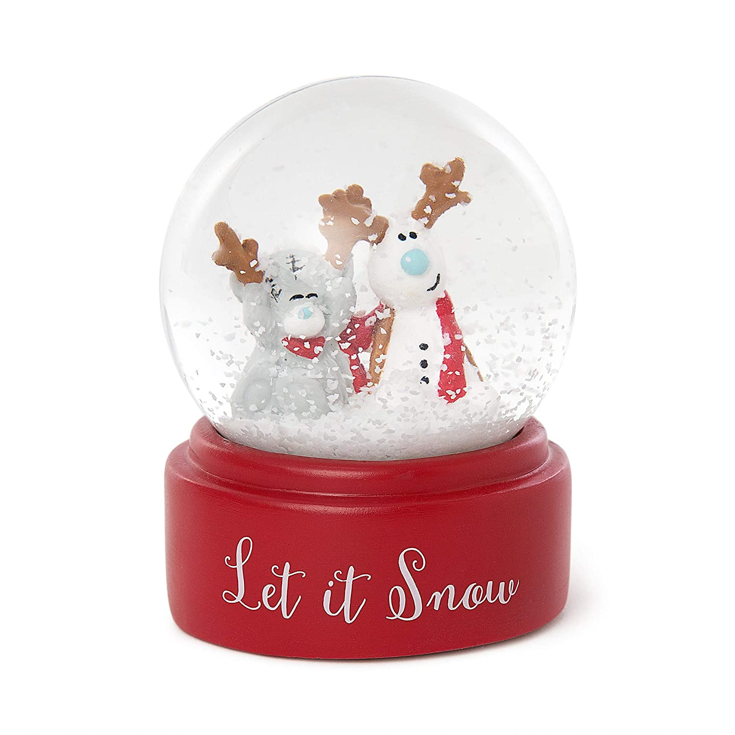 Me To You Tatty Teddy 'Let Snow Globe Carte Blanche Greetings XGE01003