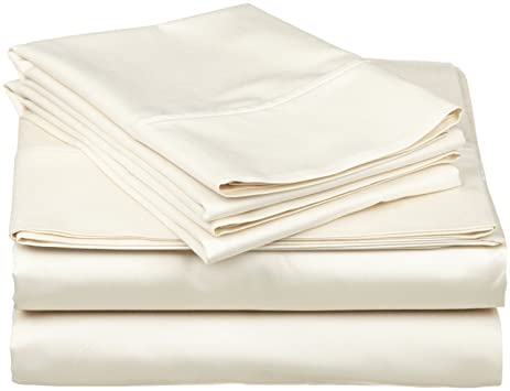 Royal Home Collection 600 Thread Count Egyptian Cotton 4pc Sheet Set  15u0026quot; Inch Extra Deep