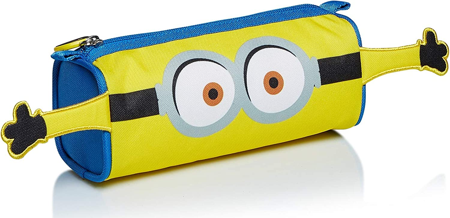 Portalápices de Minions, The Rise of GRU, Amarillo y Azul, Estuche Escolar: Amazon.es: Equipaje