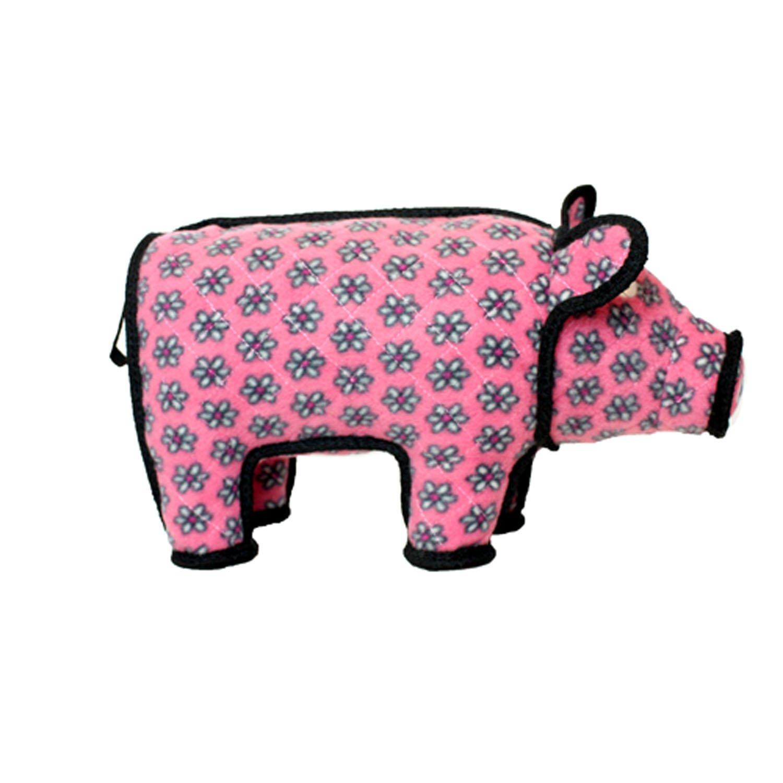 TUFFY Barnyard Animal Pig, Durable Dog Toy, Large by TUFFY