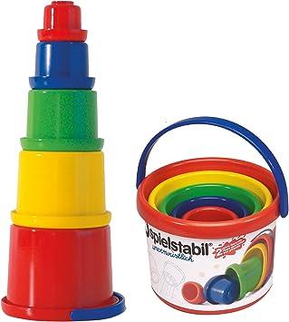 Spielstabil 3502 5 Stapelbecher: : Spielzeug