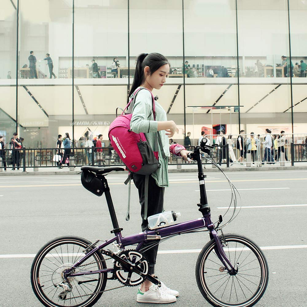 Transpirable para Deportes al Aire Libre Mochila Mochila para Montar Correr Festnight Mochila de Ciclismo de 12 litros Ligera Escalada para Correr