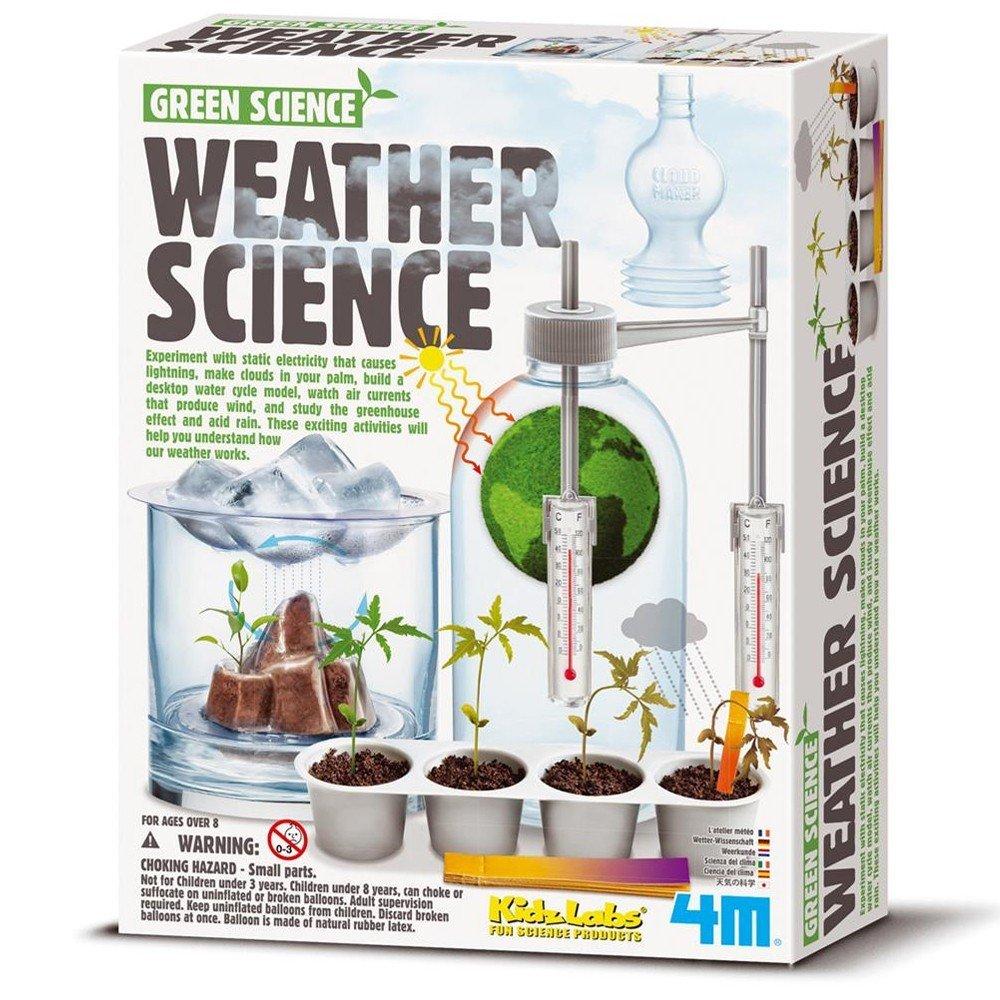 BARRUTOYS Kit Science Météo Coffret de Construction Green Science