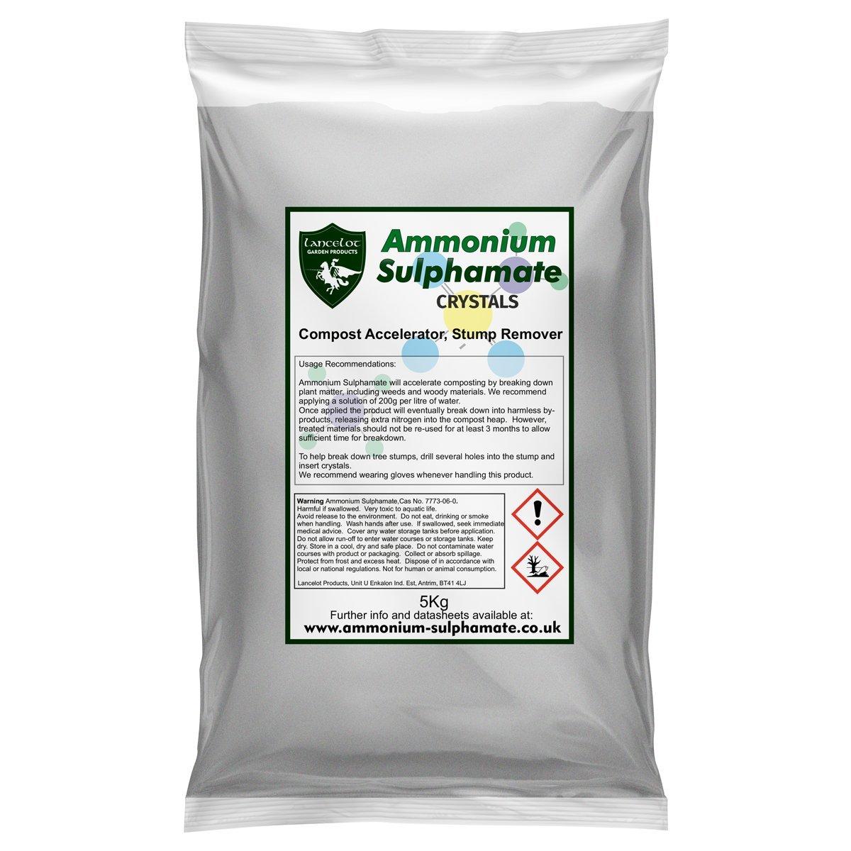 Lancelot Ammonium Sulphamate 5Kg R&D Laboratories Ltd