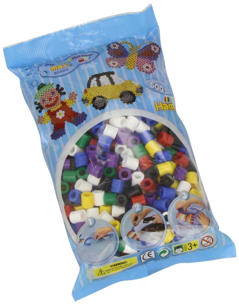 Hama Maxi Beads 500 Solid Mix