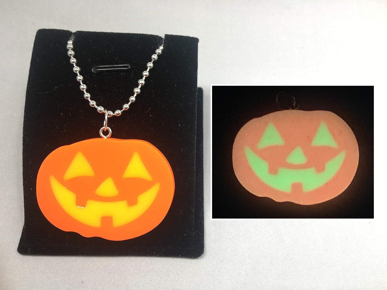 Trick or Treat Pumpkin Necklace