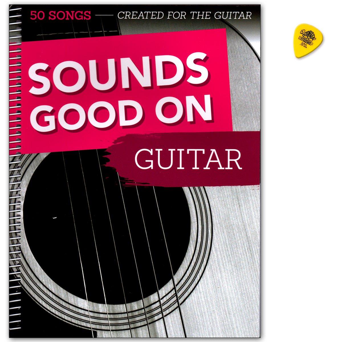 Sounds Good on Guitar: 50 Canciones crea Ted for the Guitar – Songbook en ligero hasta mittelschweren Arrangements – con Dunlop Púa: Amazon.es: Instrumentos musicales