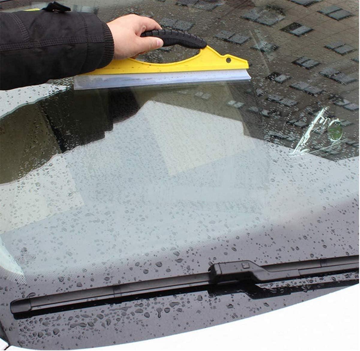 Biluer Tergipavimento per finestre 6PCS Tergivetro per Doccia Tergicristallo in Silicone Adatto per Vetri Auto Finestre o Bagni