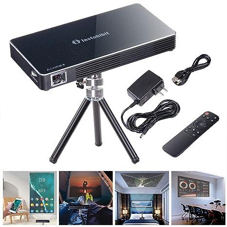 Amazon.com: Instahibit Mini proyector portátil DLP 3D HD 120 ...