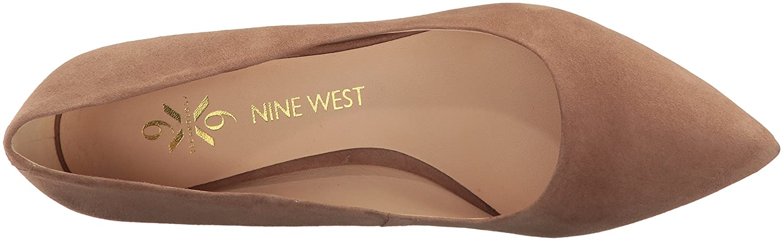 Nine West Women's Astoria Pump B06WVBG5NT 7 B(M) US|Natural Suede