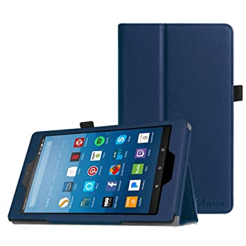 b3d6f156c5c2 Fintie Folio Case for All-New Amazon Fire HD 8 Tablet (Compatible with 7th