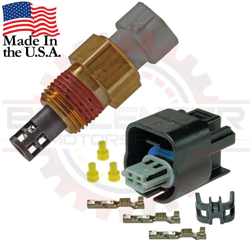 Fast-Response GM Delphi Packard Intake Air Temperature Sensor ( IAT / MAT / ACT ) (Sensor w/Connector Kit)