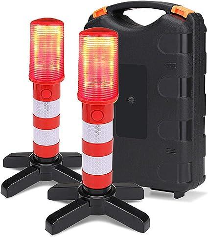 Zcm Jsdtws Outdoor Alarmleuchte Inspektion Der Fahrzeugbeleuchtung Multifunktionsleuchte Mit Magnet Led Arbeitsleuchte Taschenlampe Mit Modus 3 2 Leds Garten