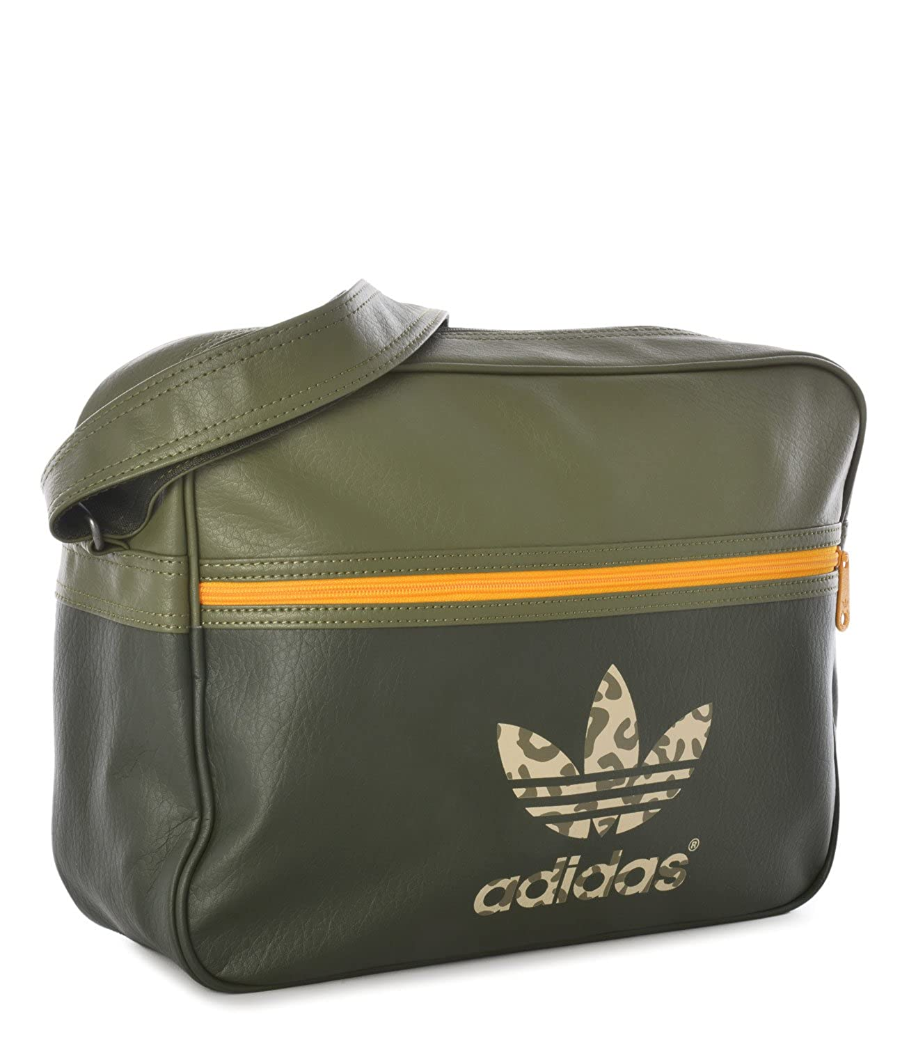 003478a39e Adidas Airliner Bag Classic Street Night Olive Gold  Amazon.co.uk  Clothing