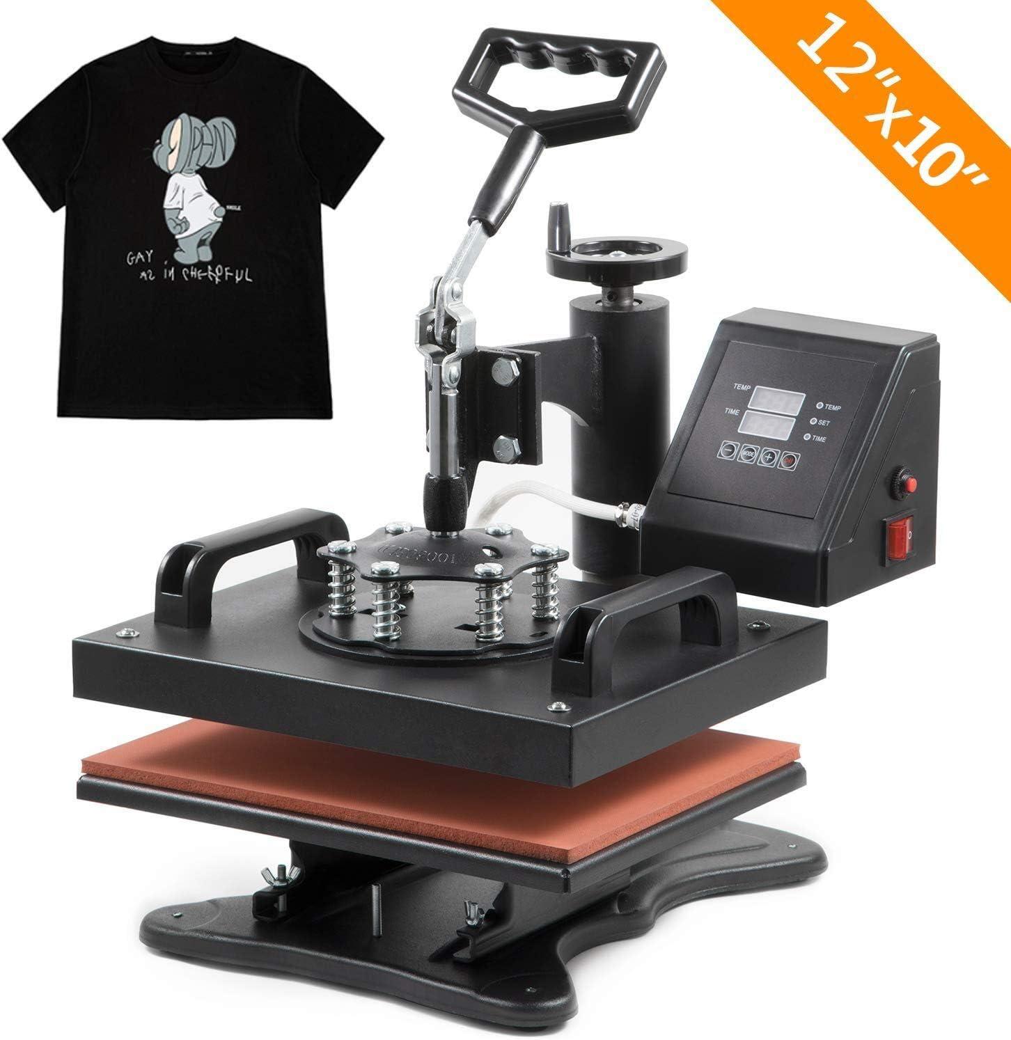 Hot Clamshell Digital Heat Press Machine T-shirt Transfer Sublimation DIY New